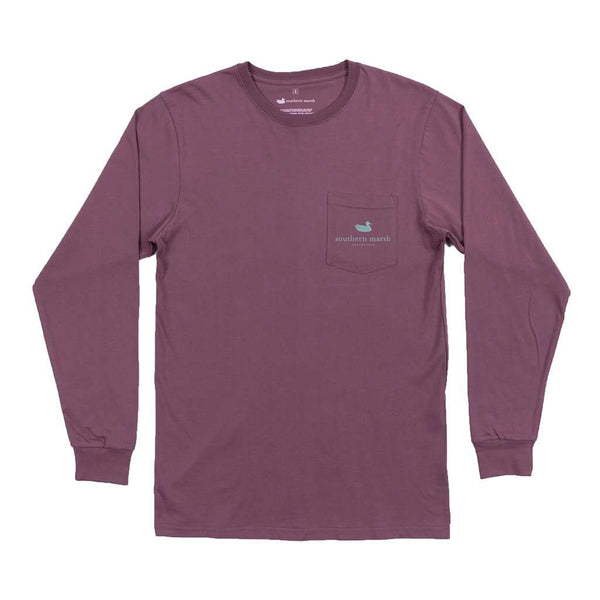 Southern Marsh Long Sleeve Aztec Catch Tee by Southern Marsh