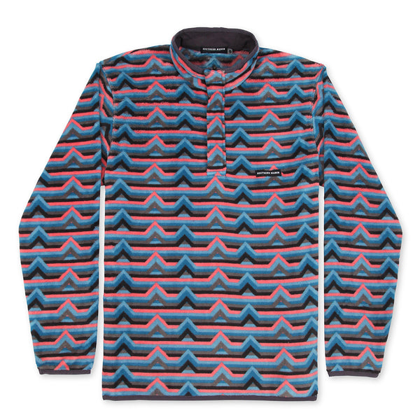 Southern Marsh Moab Stripe Fleece Pullover by Southern Marsh