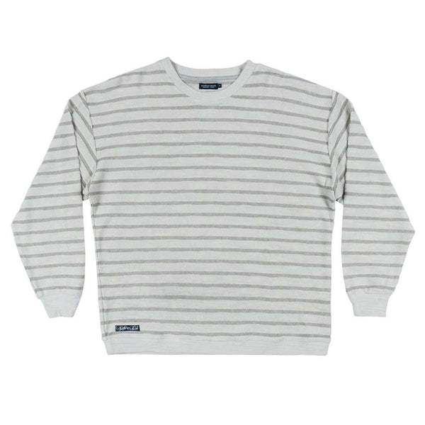 Southern Marsh Nautical Stripe Sunday Morning Sweater by Southern Marsh