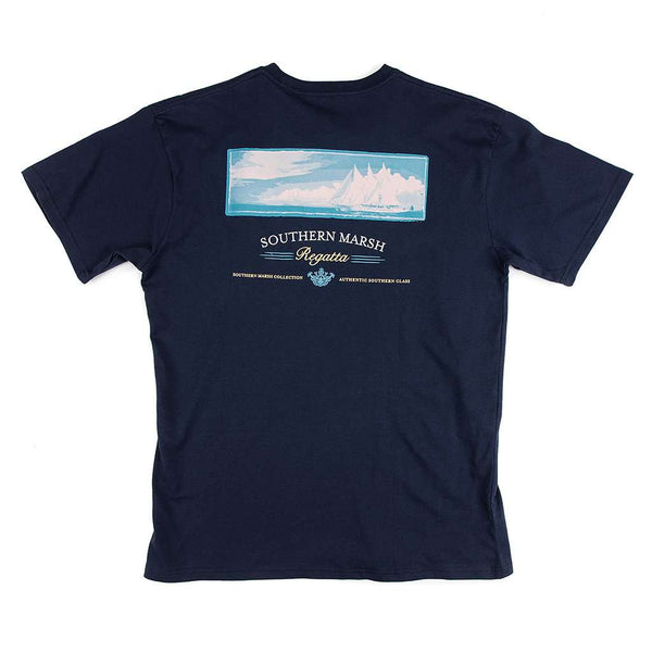 Southern Marsh Regatta Tee Shirt by Southern Marsh