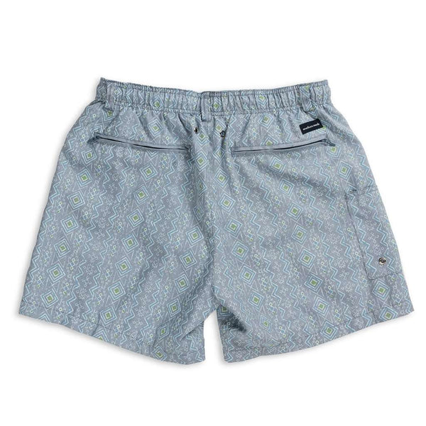 Dockside Swim Trunk - Toxaway Chambray by Southern Marsh - FINAL SALE