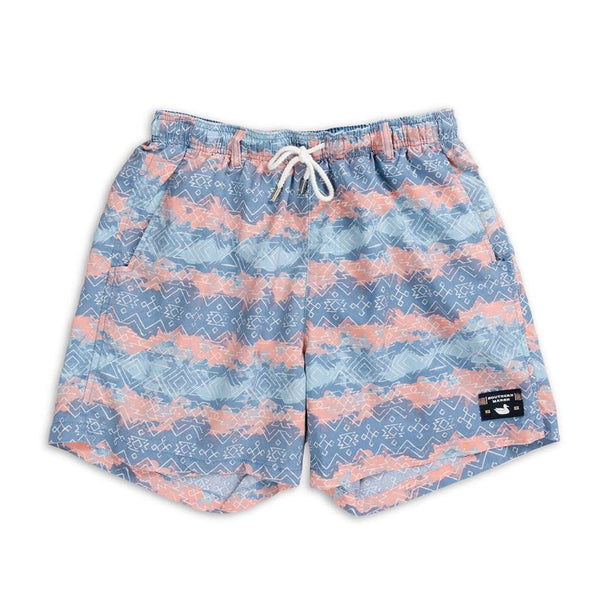Southern Marsh SEAWASH™ Shoals Swim Trunk - Mayan Watercolor
