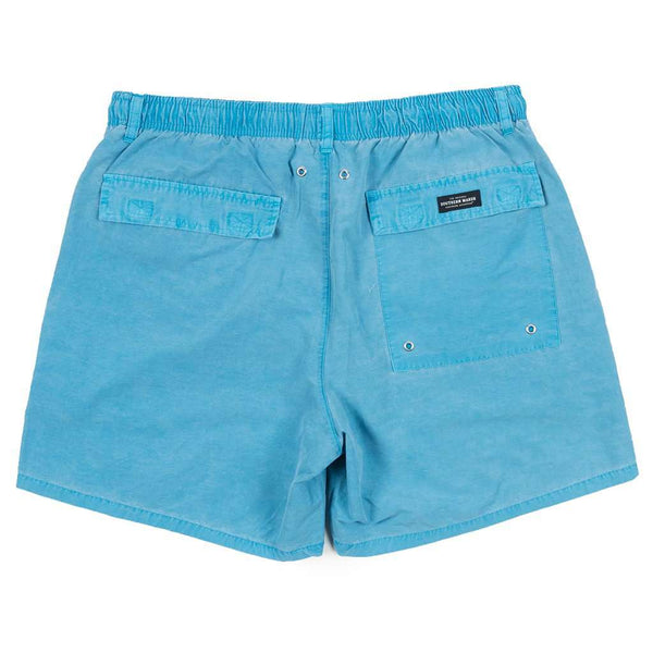 Southern Marsh SEAWASH™ Shoals Swim Trunk in Teal by Southern Marsh