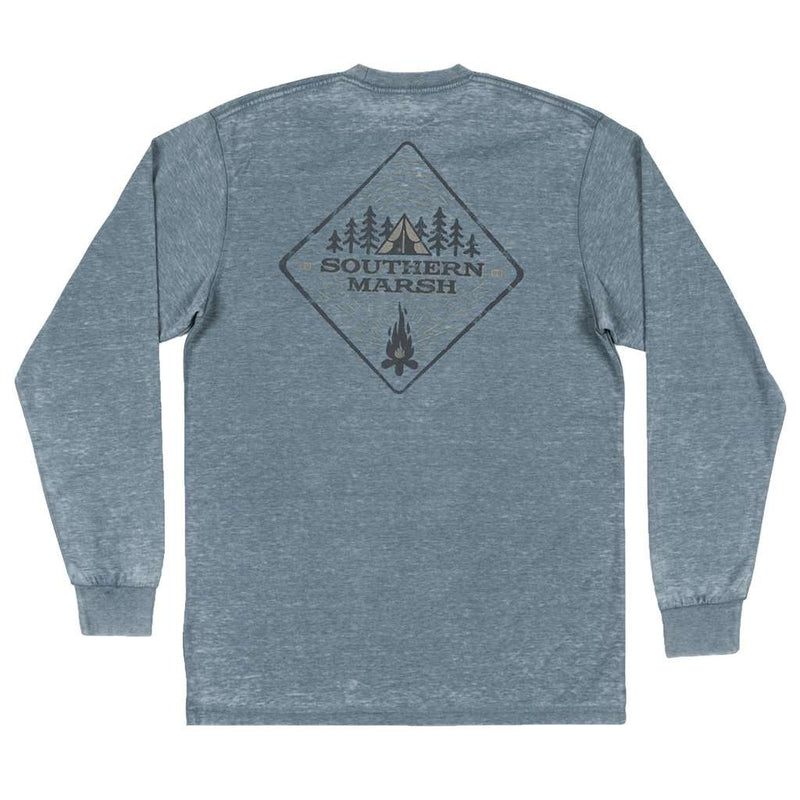 Southern Marsh Long Sleeve Seawash™ Tent Tee by Southern Marsh