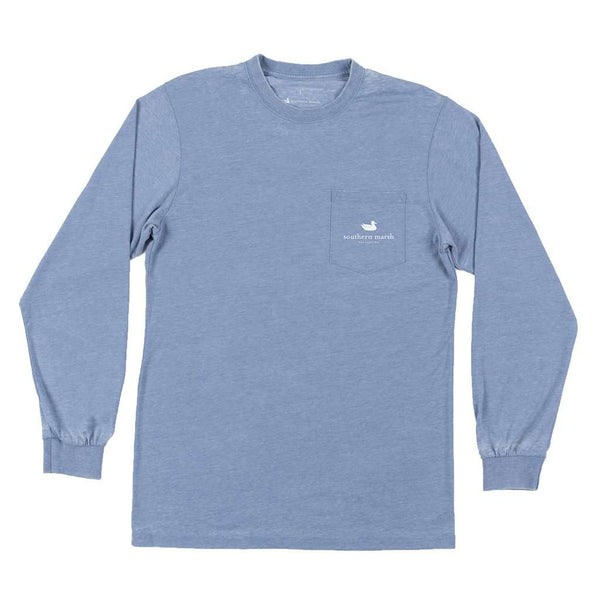 Southern Marsh Long Sleeve Seawash™ Duck Trio Tee by Southern Marsh