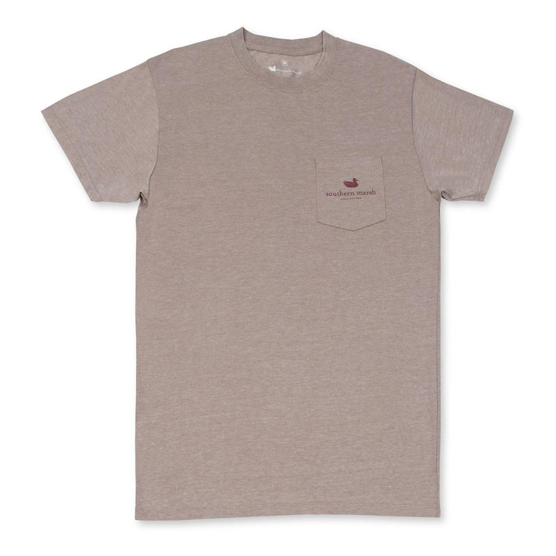 The Seawash Deer Tee Shirt by Southern Marsh