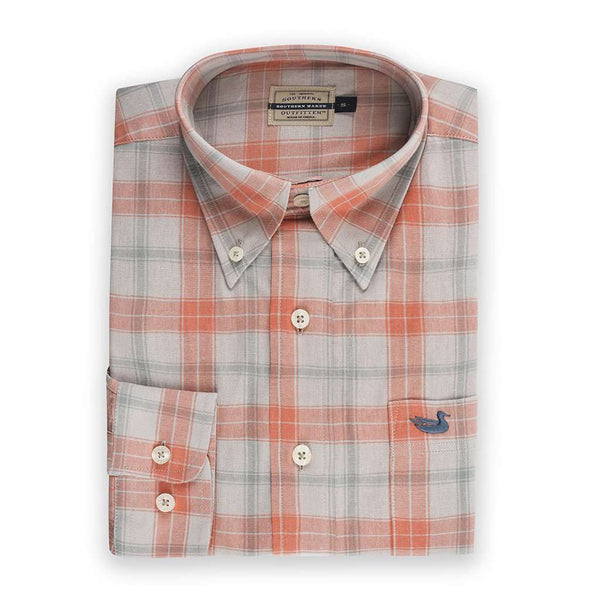 Southern Marsh Williamson Washed Plaid Dress Shirt by Southern Marsh