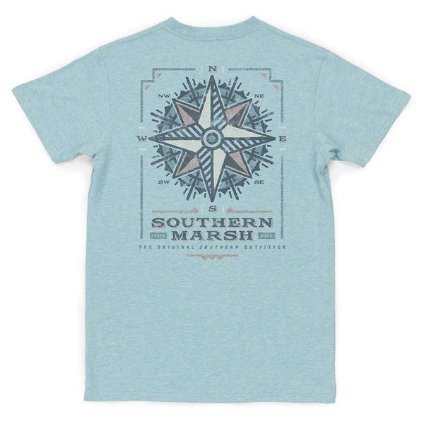 Southern Marsh Youth Branding Compass Tee by Southern Marsh