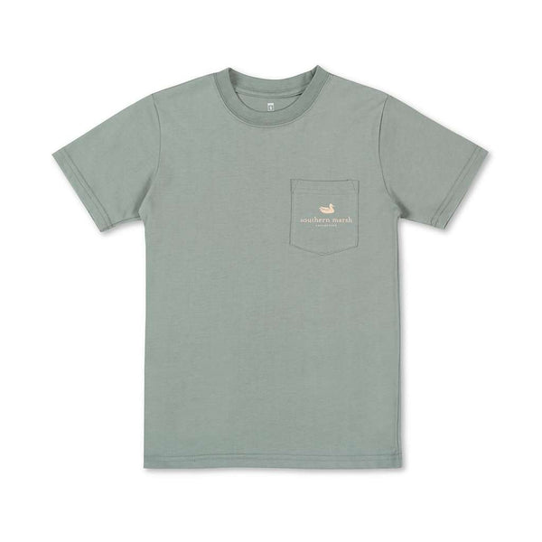 Southern Marsh Youth Branding Sunset Tee by Southern Marsh
