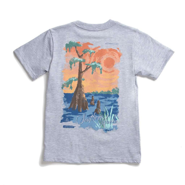 Youth Southern Horizons - Cypress Tee by Southern Marsh