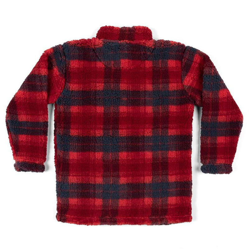 Southern Marsh Youth Andover Plaid Sherpa Pullover by Southern Marsh