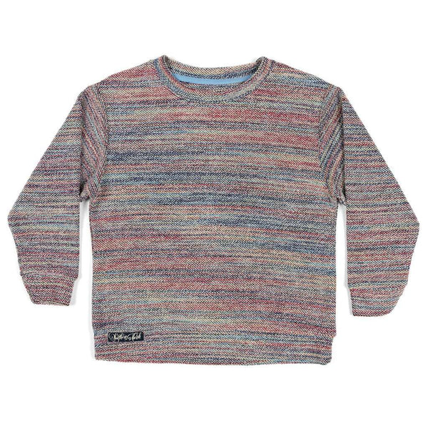 Southern Marsh Youth Rainbow Sunday Morning Sweater by Southern Marsh