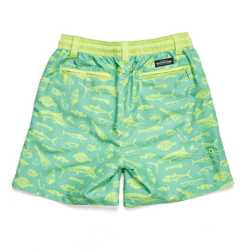 Southern Marsh Boys' Offshore Dockside Swim Trunk by Southern Marsh
