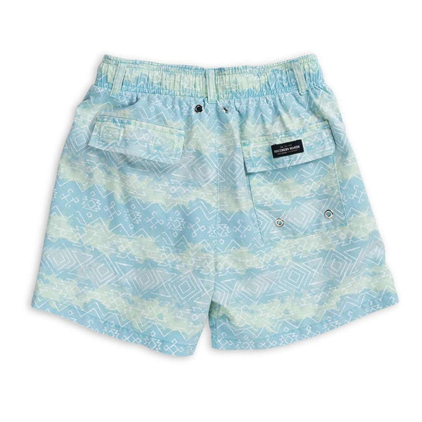 Youth Shoals SEAWASH™ Swim Trunk - Mayan Watercolor by Southern Marsh - FINAL SALE