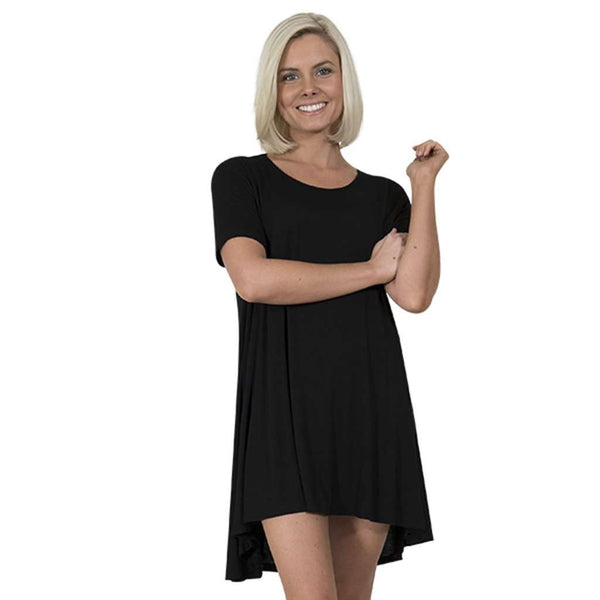 Tunic in Black by Simply Southern