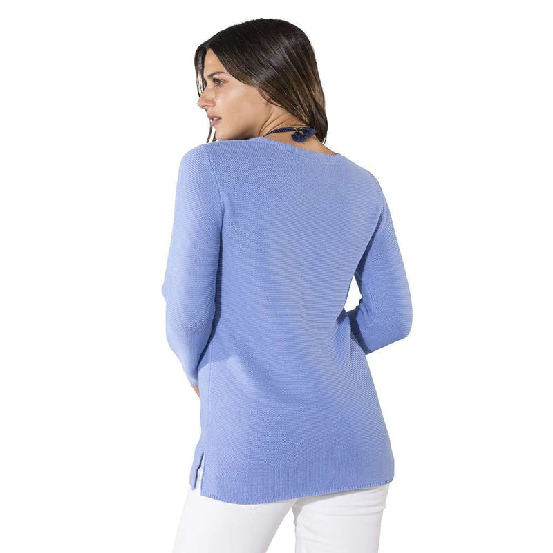Sail to Sable Long Sleeve Periwinkle Sweater by Sail to Sable