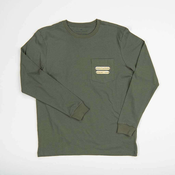Southern Point Collar Long Sleeve Tee by Southern Point Co.