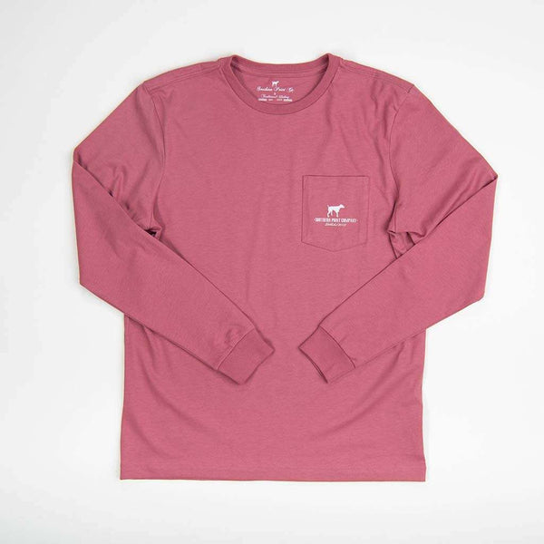 Southern Point Greyton Close Up Long Sleeve Tee by Southern Point Co.
