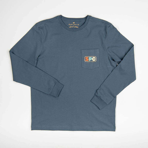 Southern Point Retro Greyton Long Sleeve Tee by Southern Point Co.