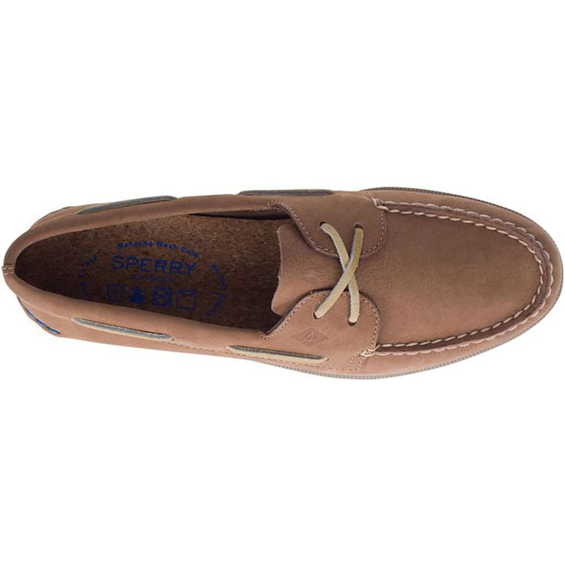 Sperry Men's Authentic Original 2-Eye Plush Washable Boat Shoe by Sperry