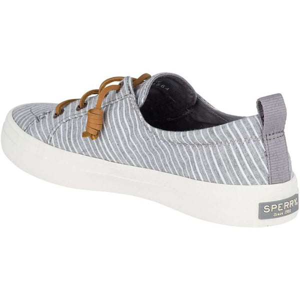 Sperry Women's Crest Vibe Chambray Stripe Sneaker by Sperry