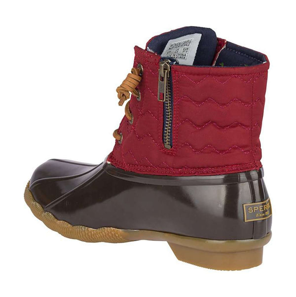 Sperry Women's Saltwater Quilted Chevron Duck Boot by Sperry