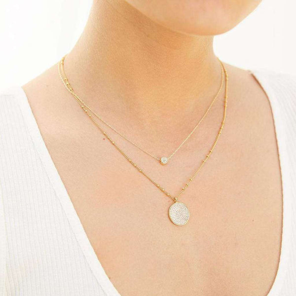 Gorjana Pristine Coin Necklace by Gorjana