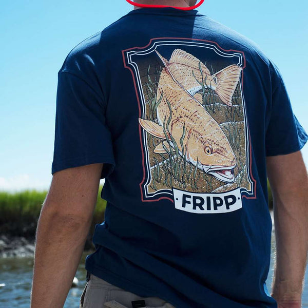Fripp & Folly Redfish Swimming Tee by Fripp Outdoors
