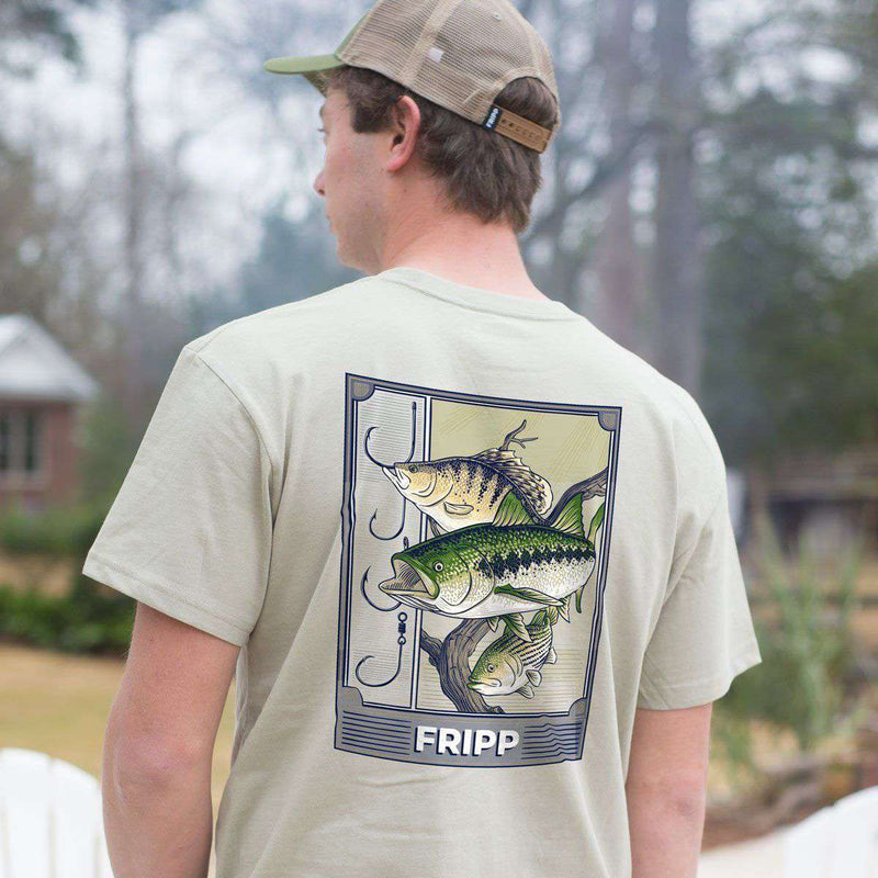 Fripp & Folly 3 Freshwater Fish with Hooks Tee by Fripp Outdoors