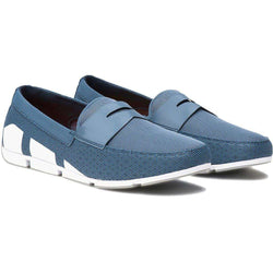 2be7b66b1a7 SWIMS Breeze Penny Loafer in Slate