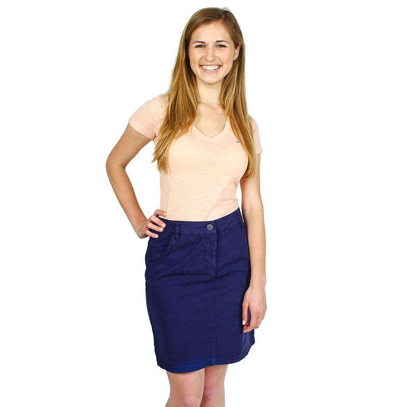 Manon Skirt in Navy by Saint James  - 1