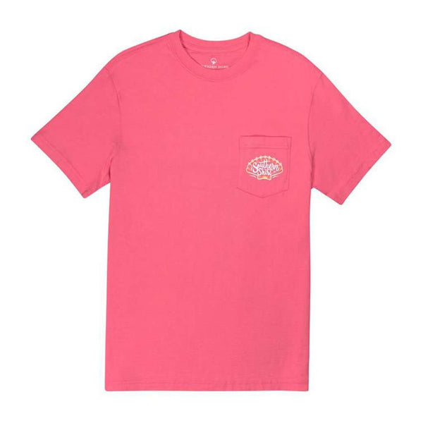 Sand Dollar SS in Pink Lemonade by The Southern Shirt Co.. - FINAL SALE