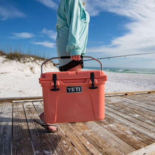 Roadie 20qt in Coral by YETI