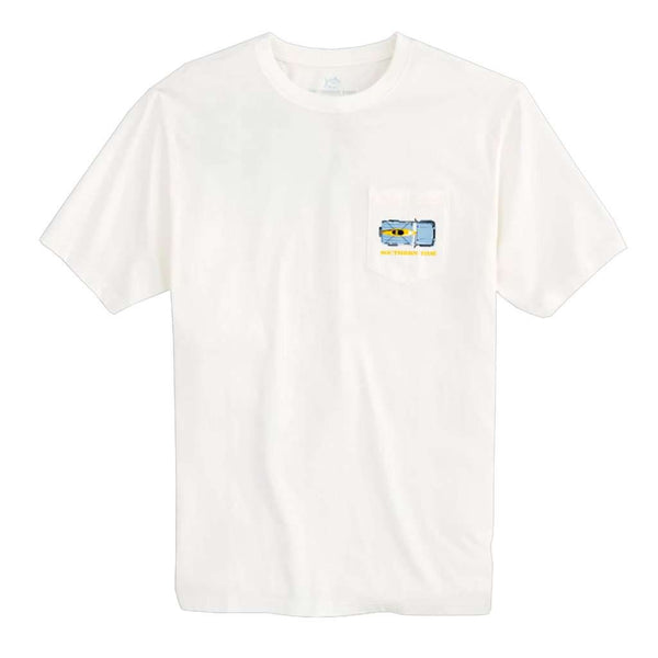 Southern Tide Sand Tire Tracks T-Shirt by Southern Tide