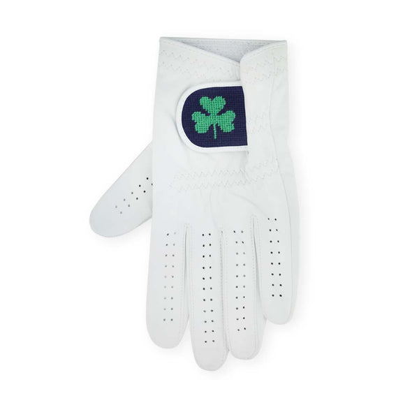Shamrock Needlepoint Golf Glove by Smathers & Branson