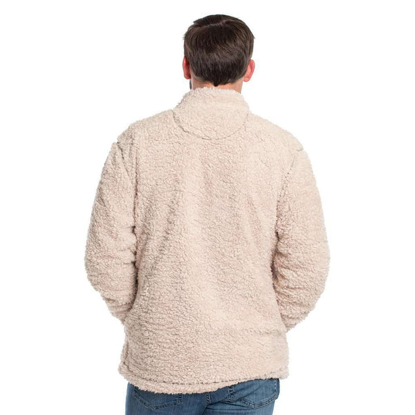 Sherpa Jacket in Oyster Gray by The Southern Shirt Co.