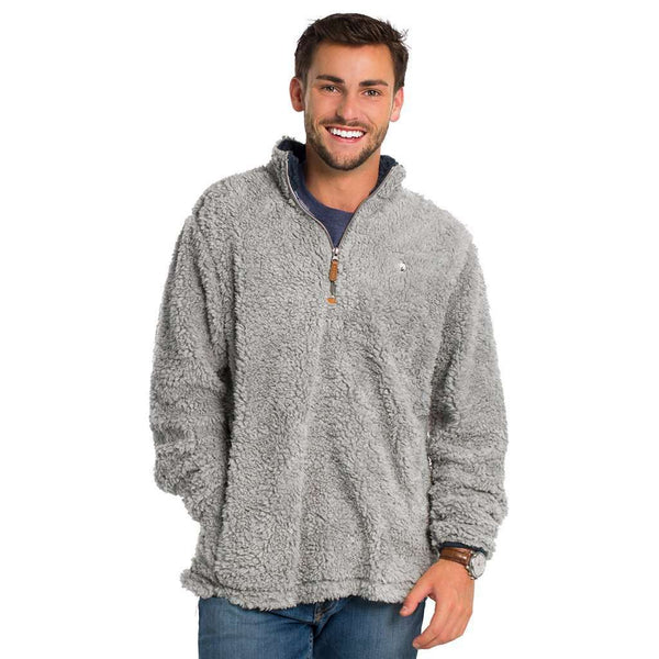Sherpa Pullover with Pockets in High Rise by The Southern Shirt Co.