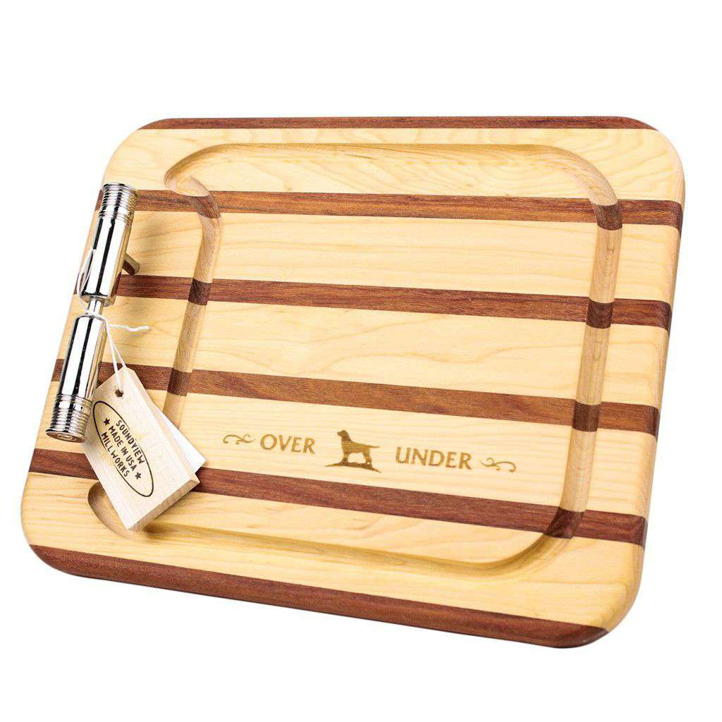 Shotgun Shell Cutting Board by Over Under Clothing  - 1