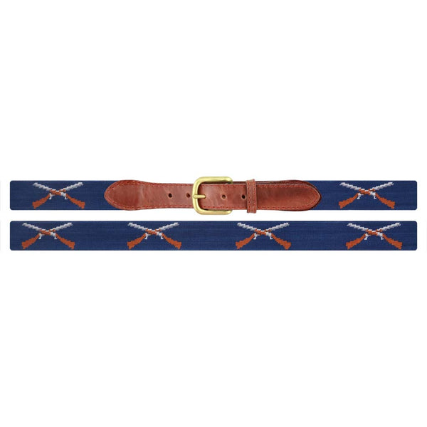 Shotguns Needlepoint Belt by Smathers & Branson