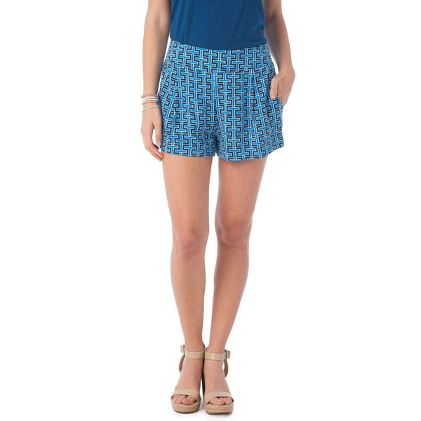 Signature Print Paige Shorts by Southern Tide  - 1