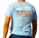 Dock Tee Shirt in Baby Blue by Anchored Style  - 1
