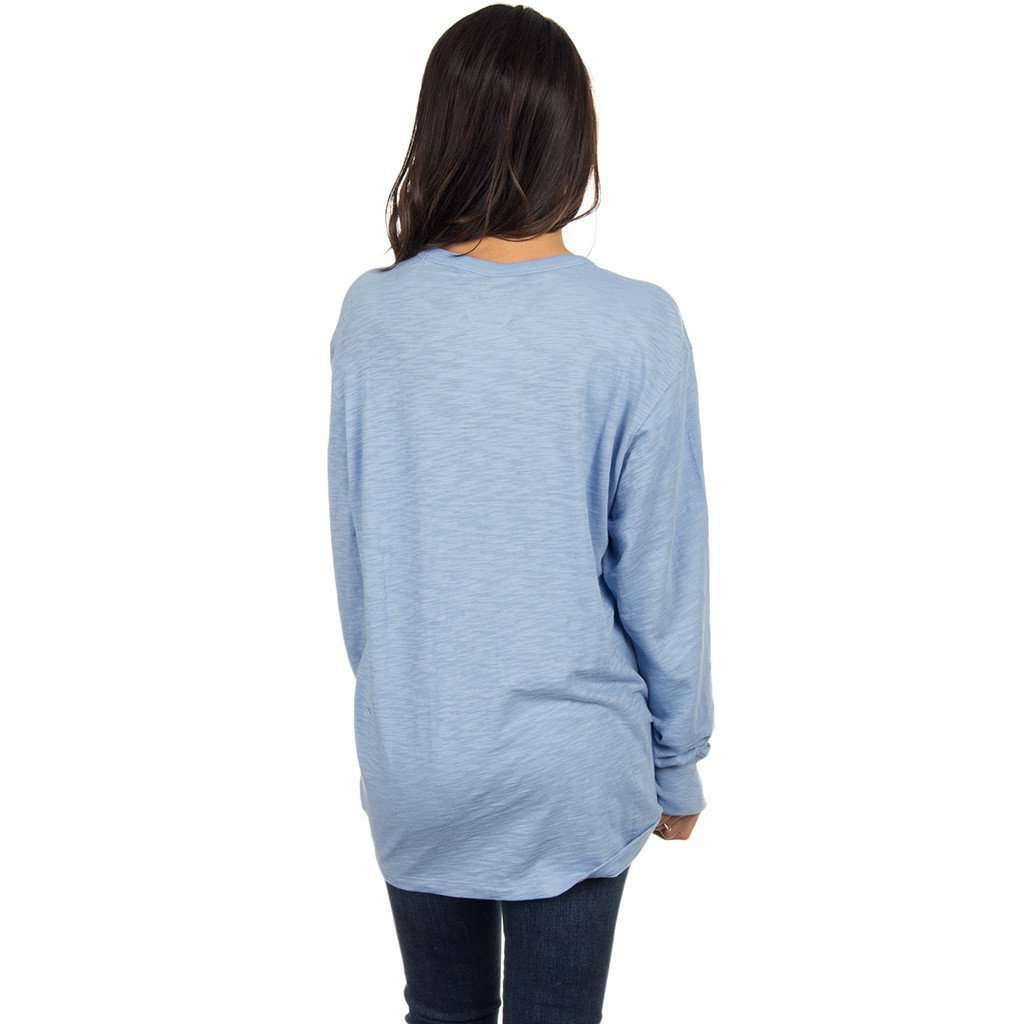 Slouchy Tee in Polar Blue by Lauren James  - 2