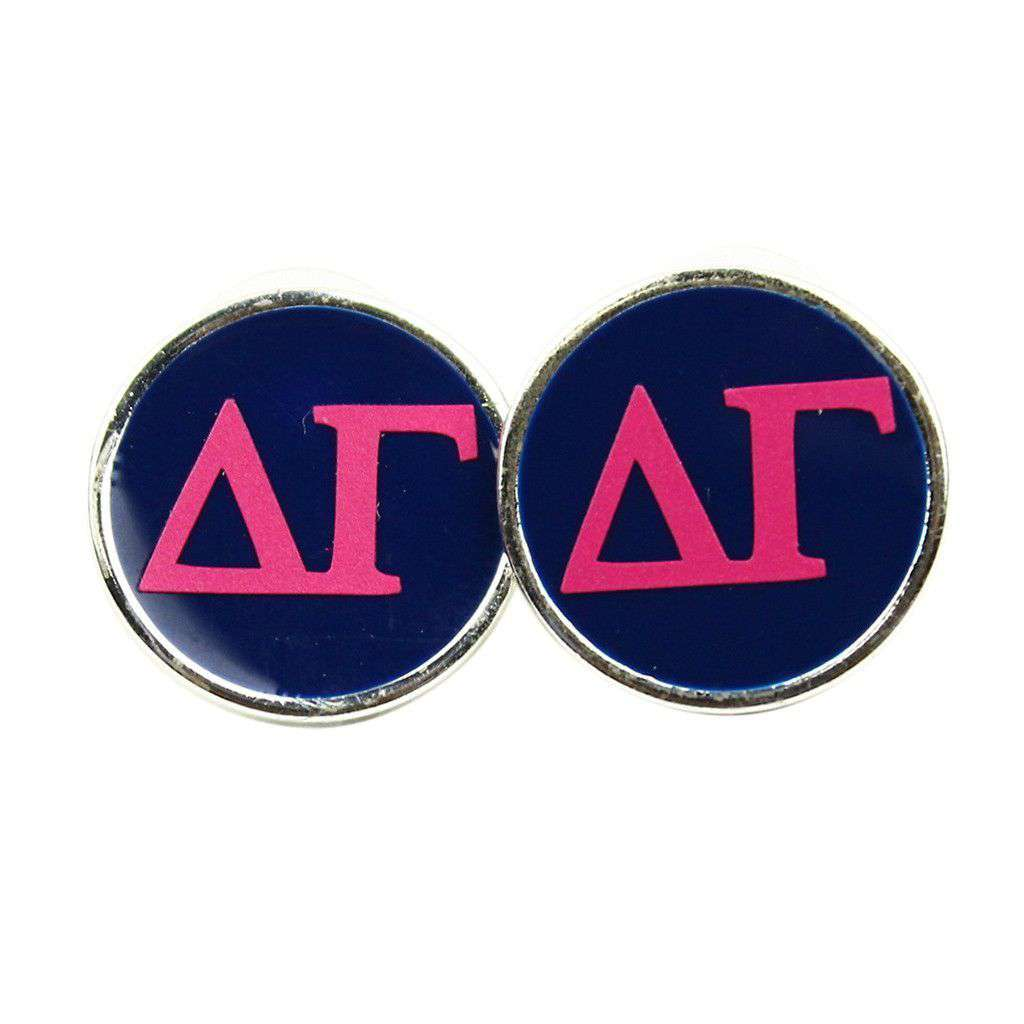 Small Delta Gamma Stud Earrings by Fornash  - 1