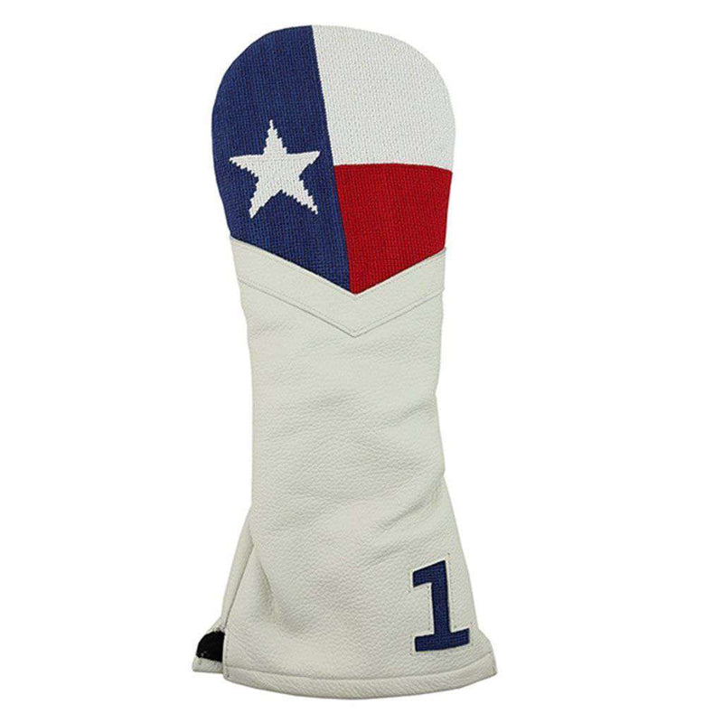 Smathers and Branson Big Texas Flag Needlepoint Driver Headcover by Smathers & Branson