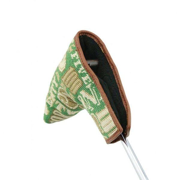 Smathers & Branson Cash Money Needlepoint Putter Headcover