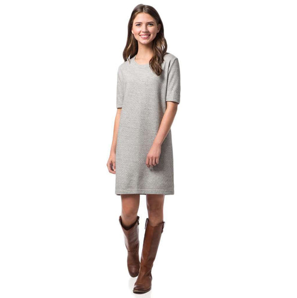 Sophie Tee Dress in Grey by Southern Proper  - 1