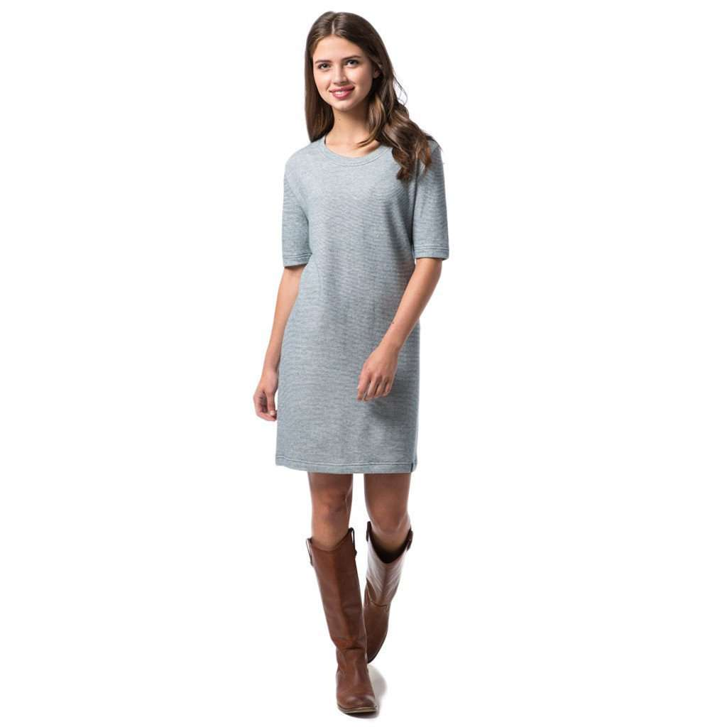 Sophie Tee Dress in Reflecting Pond Navy by Southern Proper  - 1
