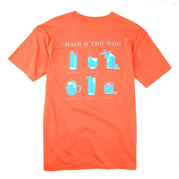 Southern Proper Hair of the Dog Tee in Persimmon