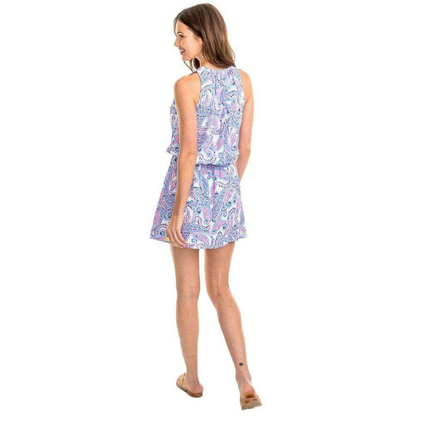 Southern Tide Annabel Dress in Ocean Channel by Southern Tide