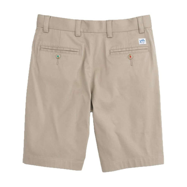 Youth Channel Marker Shorts in Sandstone Khaki by Southern Tide